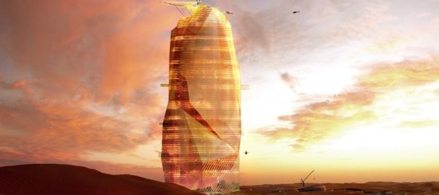 Французы строят в Сахаре «зеленый» город-небоскреб