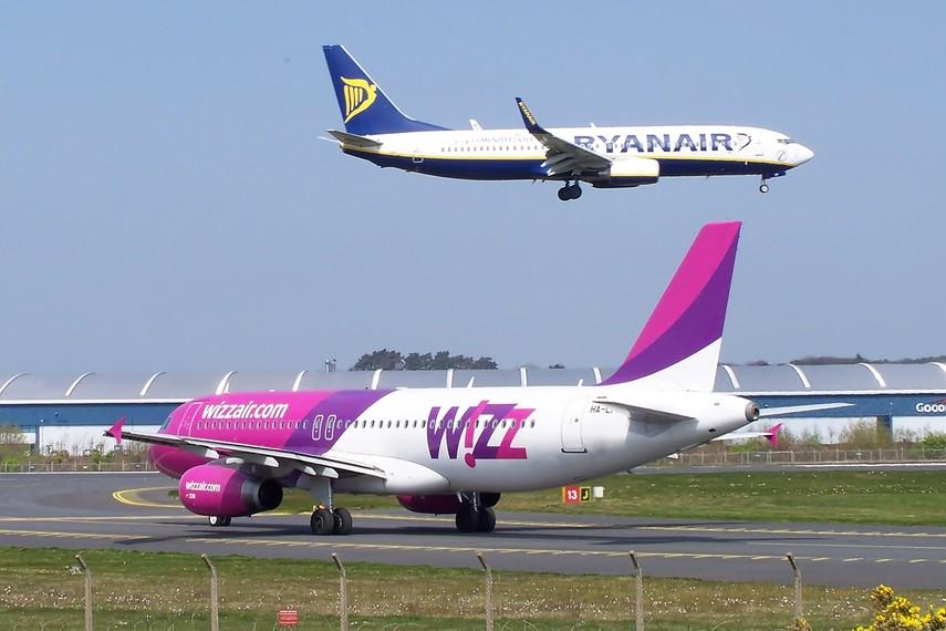 Wizz Air запустил особые лоу-кост тарифы для пассажиров Ryanair