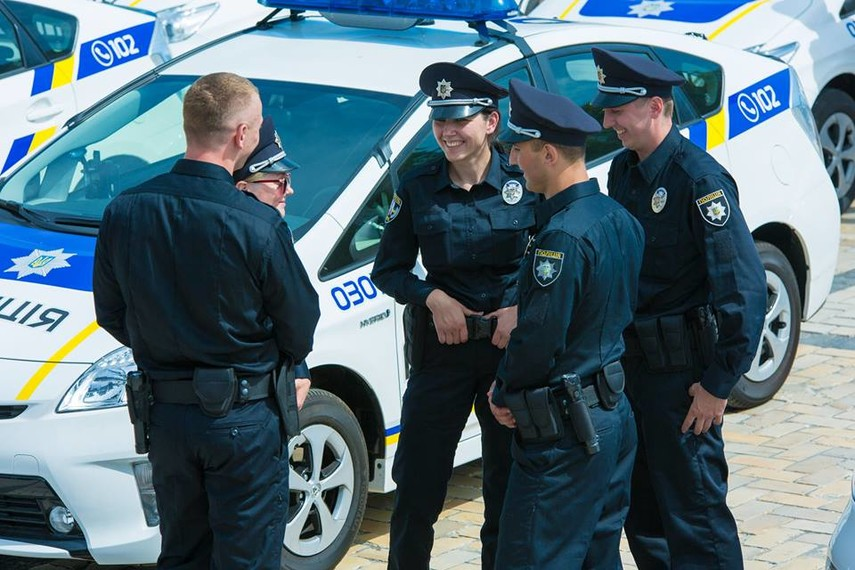 Милиция вцентре украинской столицы усилила охрану публичного порядка