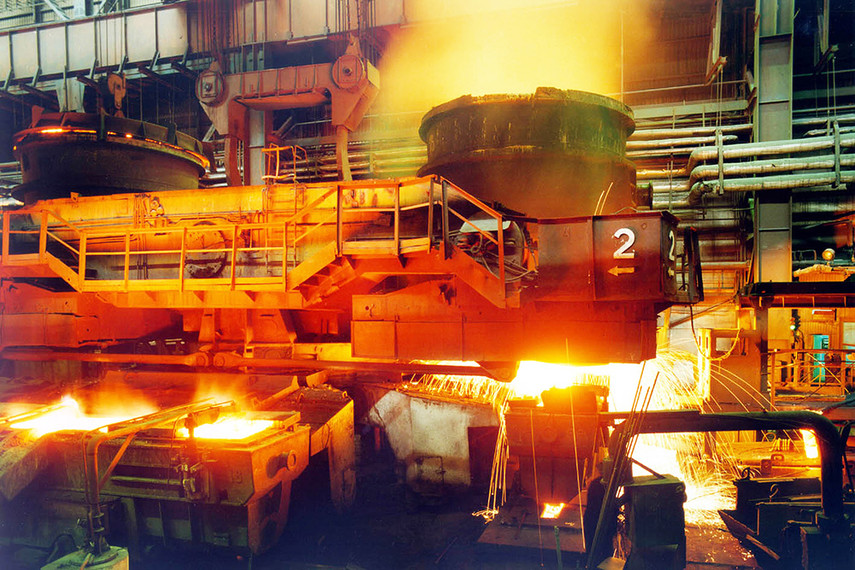 Мировое производство стали вначале лета выросло на3,2%