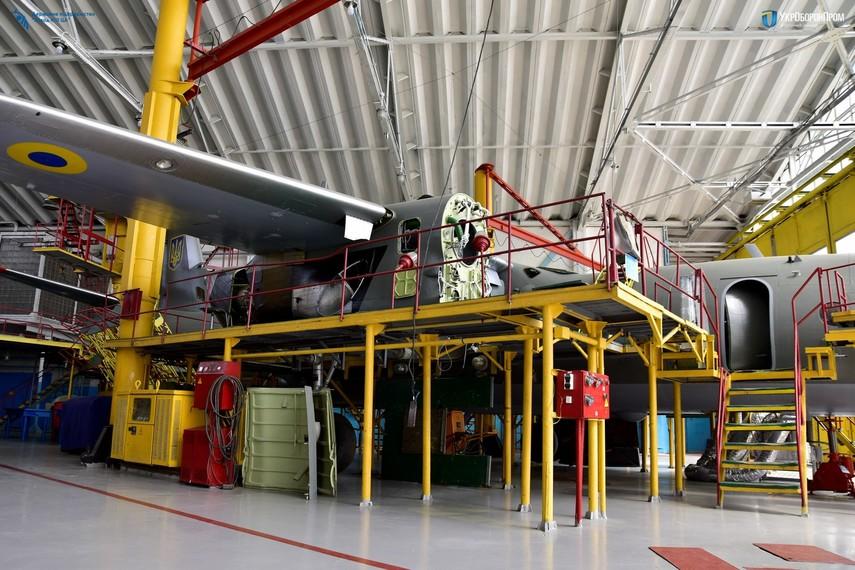 Украинский завод будет обслуживать крупнейшие мировые авиакомпании