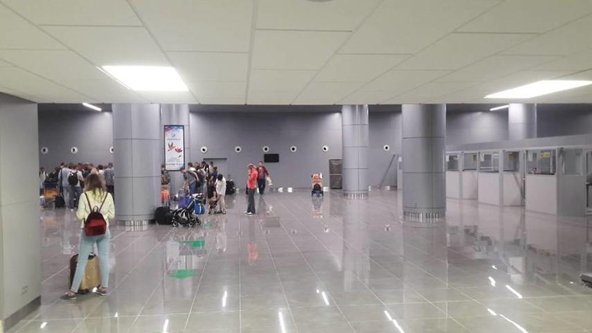 НаДень города вОдессе «заминировали» аэропорт ицентр города