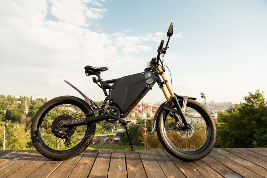 ВУкраинском государстве создан электробайк сбольшим запасом хода, чем уТеслы