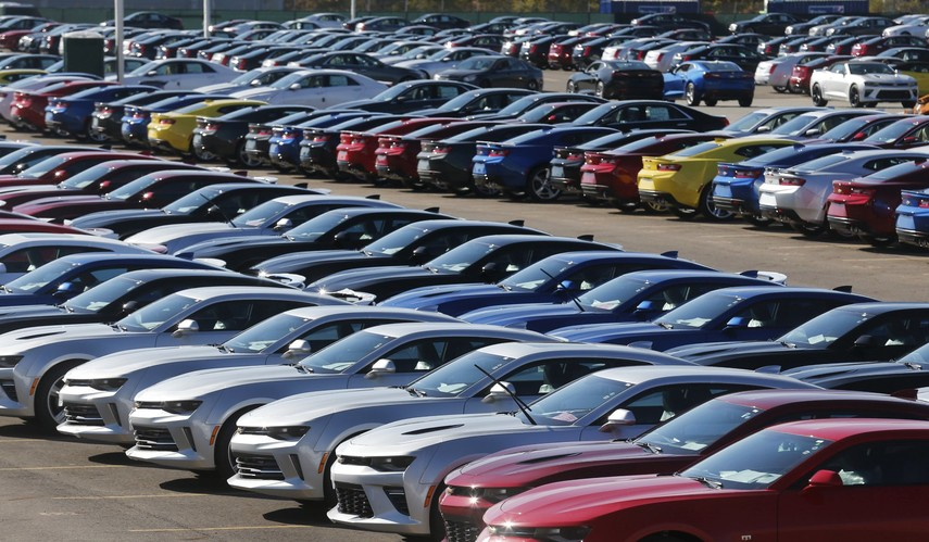 Продажи новых легковых автомобилей вгосударстве Украина увеличились на36%