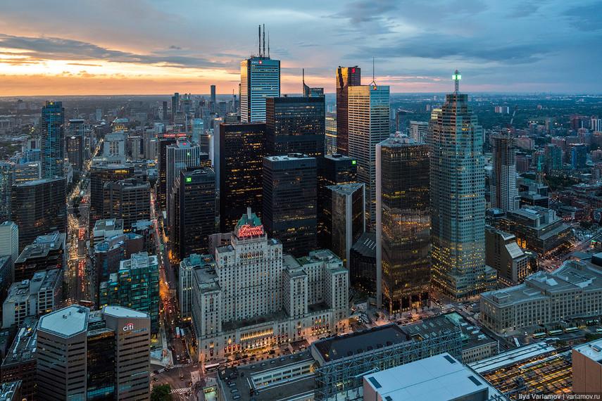 ВТоронто построят «умный город»