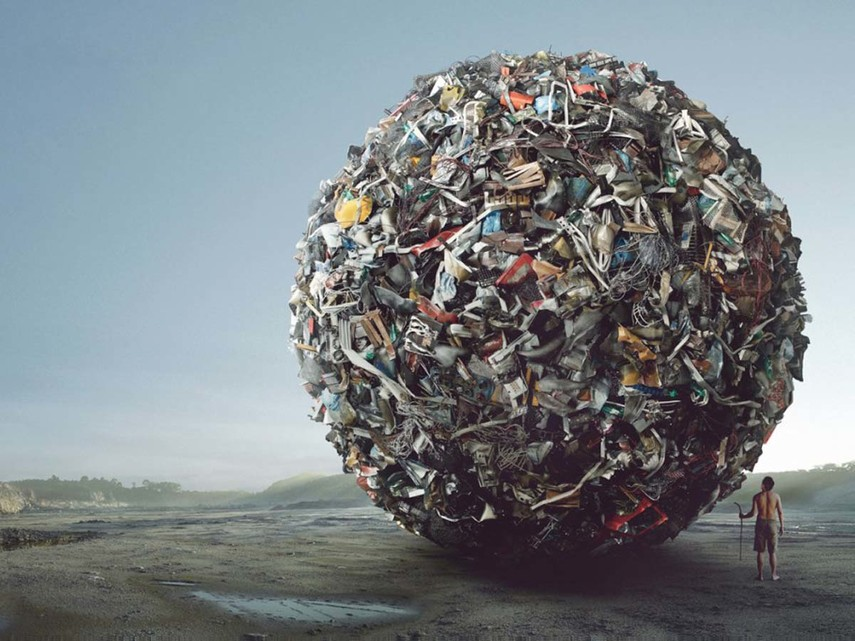 Украина накопила 36 млрд тонн отходов— Утопающие вмусоре