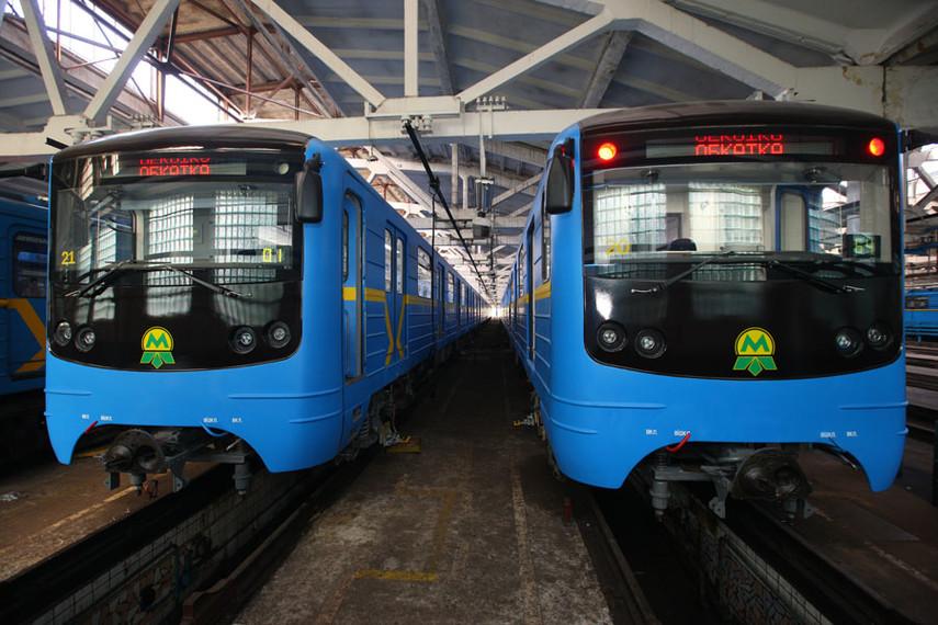 Киевский метрополитен предложил стартаперам приобрести два вагона