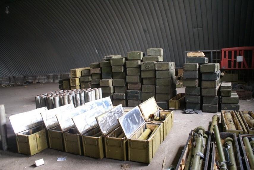 Вгосударстве Украина  построят хранилище для ракет ибоеприпасов