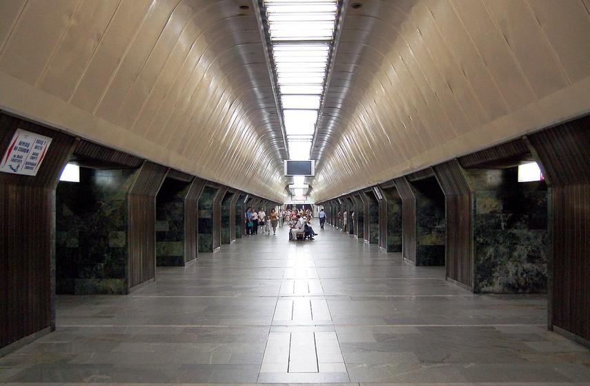 Закрыто семь станций метро— Киевский метрополитен
