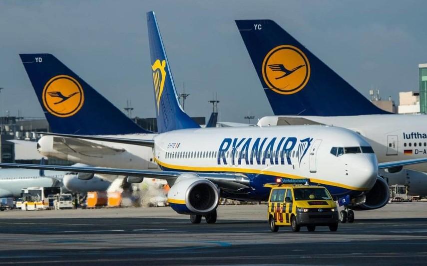 ВКиеве приземлился самолет Ryanair: наборту может быть менеджмент компании