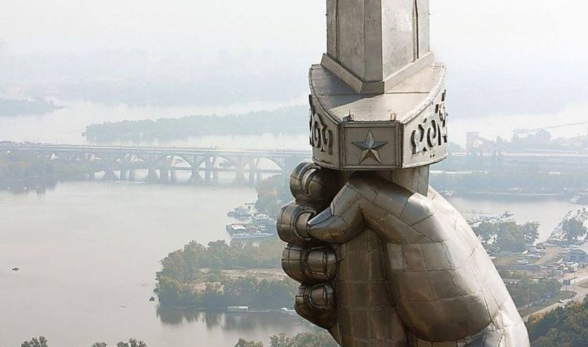 ВКиеве снова открыли смотровую площадку «для экстремалов»