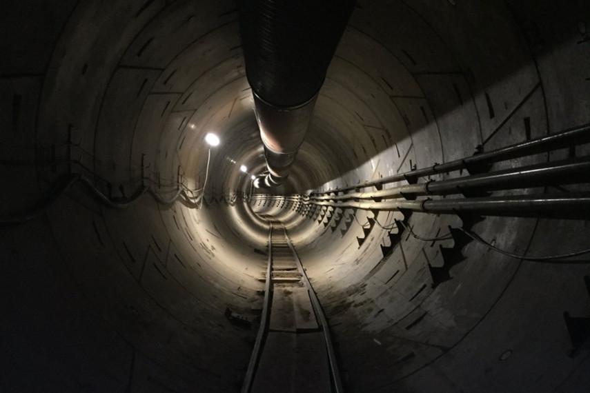 Илон Маск практически достроил пешеходный тоннель под Лос-Анджелесом