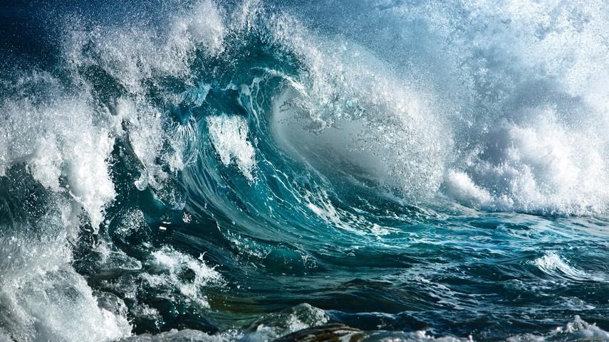 Ученые зафиксировали в новейшей  Зеландии огромную  океанскую волну