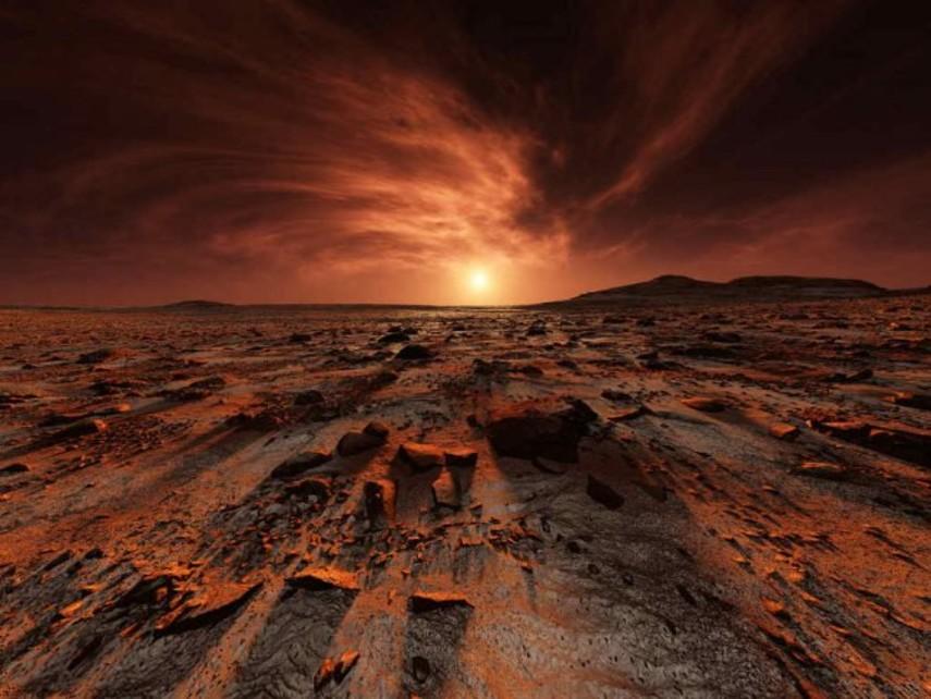 Ученые придумали, как получить кислород наМарсе