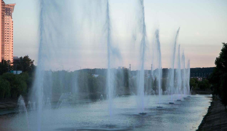 fontan na rusanovke
