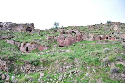 ВТурции обнаружили старинный пещерный город