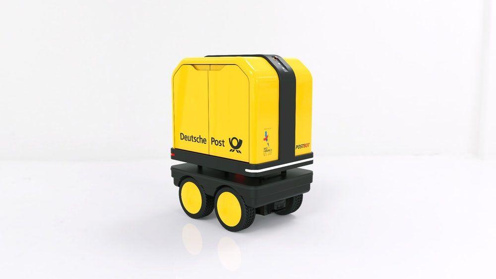 Роботы отDHL начали доставлять посылки